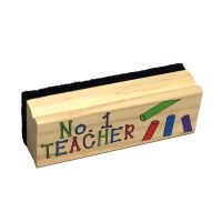 #1 Teacher Chalkboard Dry Eraser - Teacher Gifts - Holiday Gifts Mart