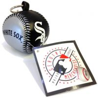 Vinyl Key Chain - White Sox - Sports Team Logo Gifts - Holiday Gifts Mart