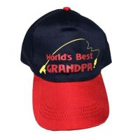 Worlds Best Grandpa Cap - Grandpa Gifts - Holiday Gifts Mart