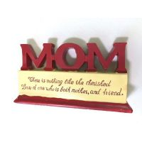 Mom Polystone Plaque - Mom Gifts - Holiday Gifts Mart