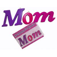 Mom 3pc Wood Plaque - Mom Gifts - Holiday Gifts Mart