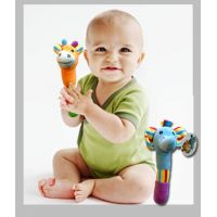Animal Baby Rattle Plush - Baby Gifts - Holiday Gifts Mart