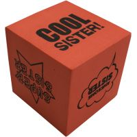 Cool Sister Foam Dice - Sister Gifts - Holiday Gifts Mart