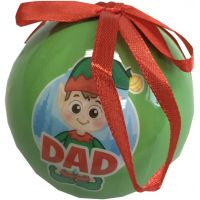 Dad Elf Ornament - Dad Gifts - Holiday Gifts Mart
