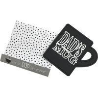 Dad Drink Coaster - Dad Gifts - Holiday Gifts Mart