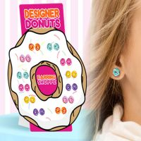 Donut Earrings - Jewelry Gifts - Holiday Gifts Mart