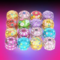 Glitter Deco Round Box - Gifts For Women - Holiday Gifts Mart
