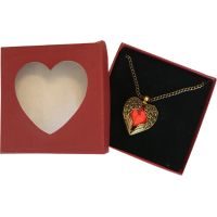 Red Heart with Wings - Jewelry Gifts - Holiday Gifts Mart