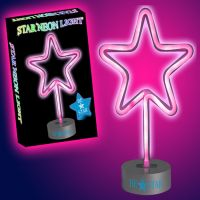 Star Neon Light in Pink - Gifts For Boys & Girls - Holiday Gifts Mart