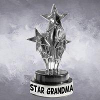 Star Grandma Trophy - Grandma Gifts - Holiday Gifts Mart