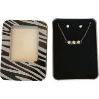 Triple Diamond Necklace & Earring Set - Jewelry Gifts - Holiday Gifts Mart