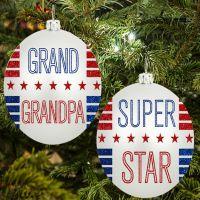 Super Grandpa Ornament - Grandpa Gifts - Holiday Gifts Mart