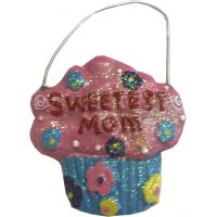 Sweetest Mom Ornament - Mom Gifts - Holiday Gifts Mart