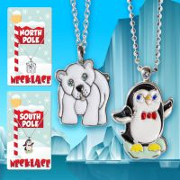 Holiday Necklace (Penguin Polar Bear) - Christmas - Holiday Gifts - Holiday Gifts Mart
