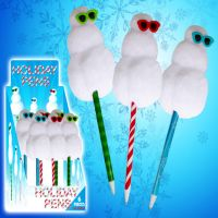 Snowman Holiday Pen - Christmas - Holiday Gifts - Holiday Gifts Mart
