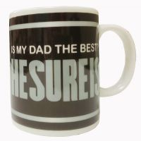 "Dad Mug - ""HESUREIS"" Best Dad - Dad Gifts - Holiday Gifts Mart"