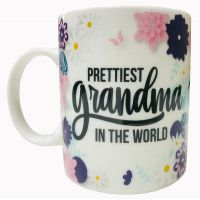 Prettiest Grandma Mug - Grandma Gifts - Holiday Gifts Mart
