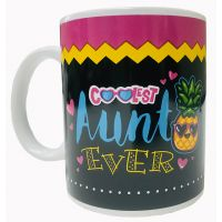 Coolest Aunt Mug - Aunt Gifts - Holiday Gifts Mart