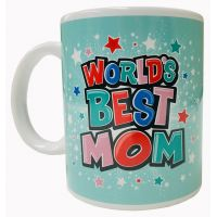 World's Best Mom Mug - Mom Gifts - Holiday Gifts Mart